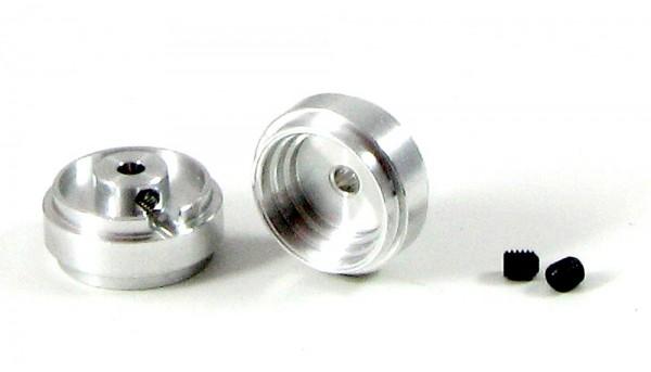 Felgen 3/32 Ø13,6x6,8-8,2mm f.Ø2,38mm Aluminium Außenhump m.Innensechskant