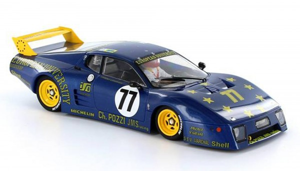 512BB GTX Le Mans 1980 #77
