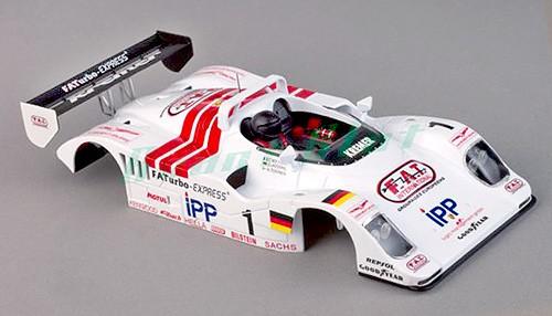 Karosserie Porsche Kremer lackiert m.Deco