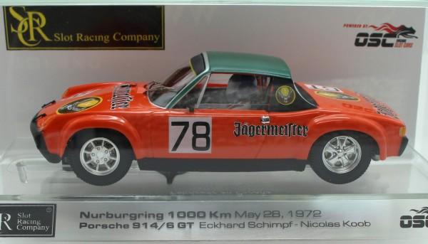 Porsche 914/6 Nürburgring 1972 #78