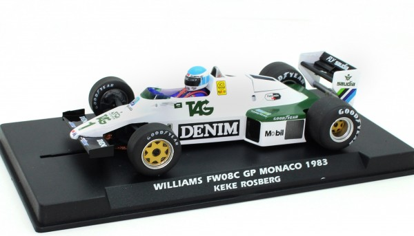 Williams FW08C F1 Grand Prix Monaco 1983 #1