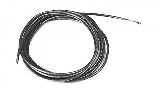 Motoranschlußkabel UltraFlex Ø1.5mm schwarz 50cm