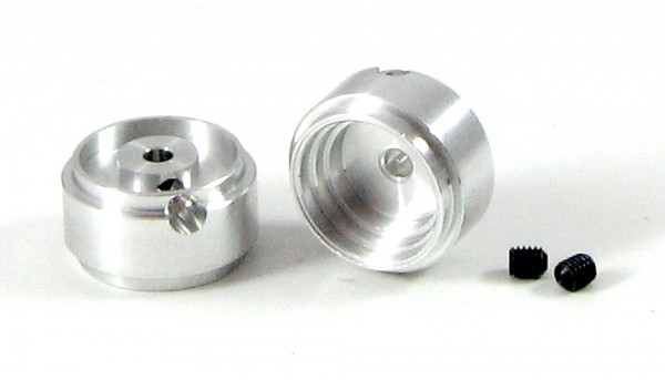 Felgen 3/32 Ø13,6x8,6mm f.Ø2,38mm Aluminium Außenhump m.Innensechskant