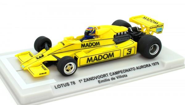Lotus 78 F1 Aurora Zandvoort 1979 #3