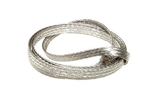Stromabnehmer Plated Kupfer verzinnt (50cm)
