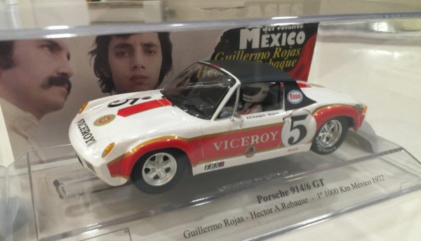 Porsche 914/6 Mexico 1973 #5 Limited Edition