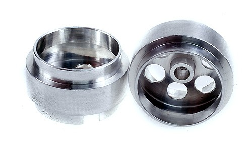 Felge Ø16,5x10mm f.Ø2,38mm Aluminium Typ Außenhump m.Innensechskant