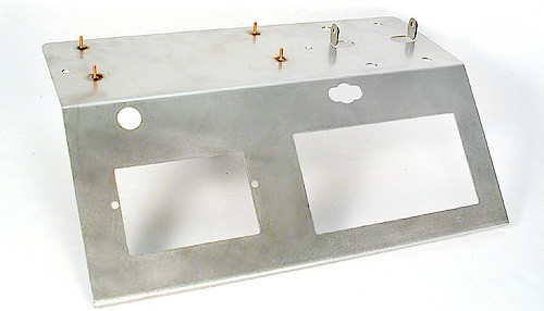 Gerätehalter Pro B f.1 Spur in Metallausführung