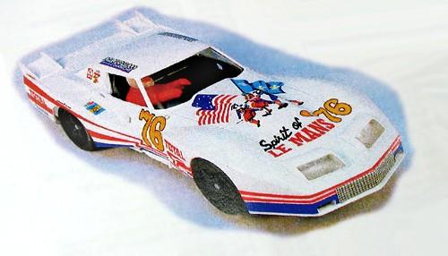 Karosserie Corvette Le Mans 76 (Resine-Kit)