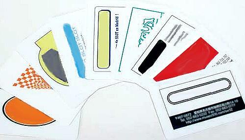 Race Cards Aufdruck je Karte (min.100 Karten je Bedruckung/Preis zuzügl.Karte)
