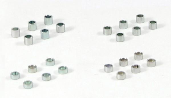 Achsdistanzen 3/32 Sortiment 1,60-3,00mm Stahl f.Ø2,38mm