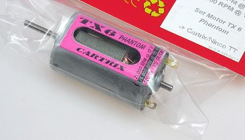 Motor TX6 Phantom 26000UpM/15V f.Cartrix/Ninco TT