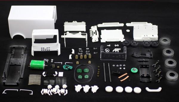 MAN Truck Raid Racing White Kit 4x4 m.2 Antriebsachsen