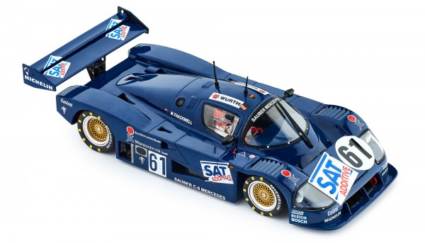Slotcar 1:32 analog Slot.it C9 Norisring 1987 No. 61