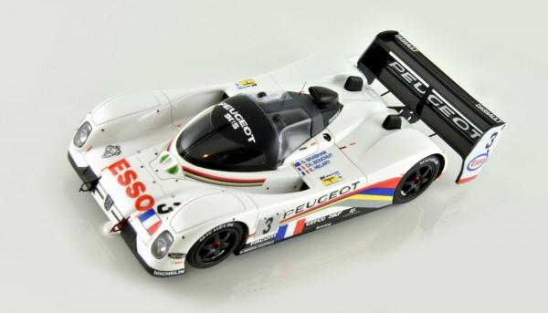 Slotcar 1:32 analog LE MANS MINIATURES 905 EV1 Bis Le Mans 1992 No. 3 High Detail Resin Collectors Edition