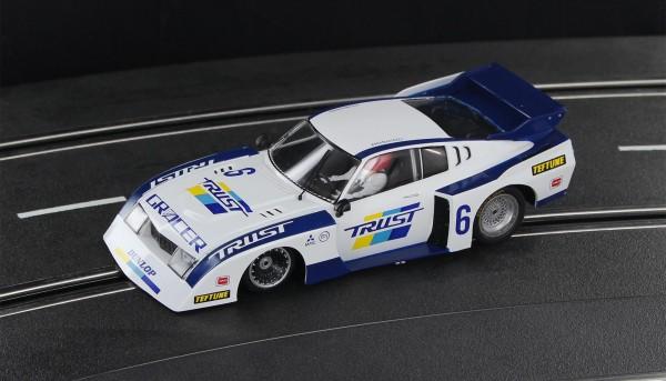 Slotcar 1:32 analog SIDEWAYS Celica Turbo No. 6