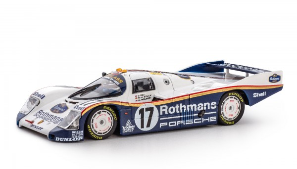 Slotcar 1:32 analog Porsche 962 Le Mans 1987 No. 17 Limited Edition Winner's Collection