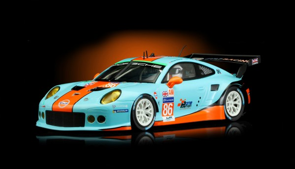 Slotcar 1:32 analog SCALEAUTO Racing-R P991 RSR Le Mans 2016 No. 86