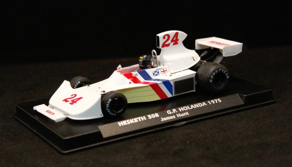 Slotcar 1:32 analog FLY 308 Grand Prix Dutch 1975 No. 24