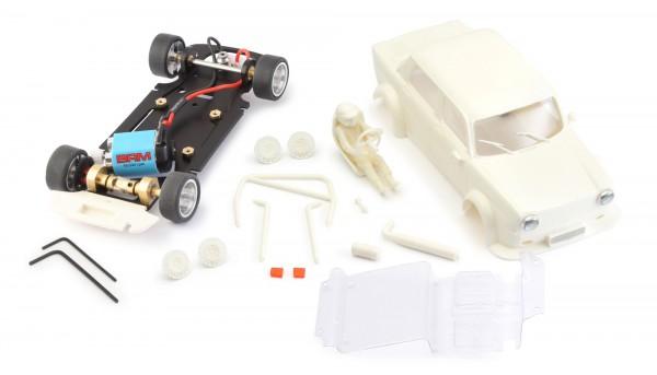 Slotcar 1:24 Bausatz analog BRM Simca White Kit Typ A