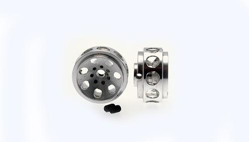 Felgen Ø14,7x8,5mm Monza-2 Aluminium gelocht m.Außenhump f.Ø2,38mm