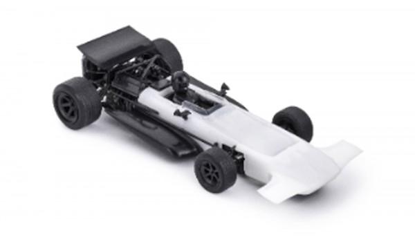 Slotcar 1:32 analog Bausatz POLICAR 701 White Kit
