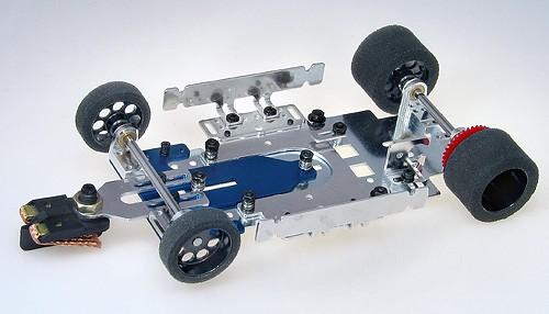 Komplettfahrwerk PALFIT Super24 Competition 13D f.Motoren Cheetah, Fox u.Pointer