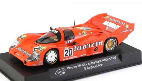 Slotcar 1:32 analog Porsche 956 Hockenheim 1985 No. 20