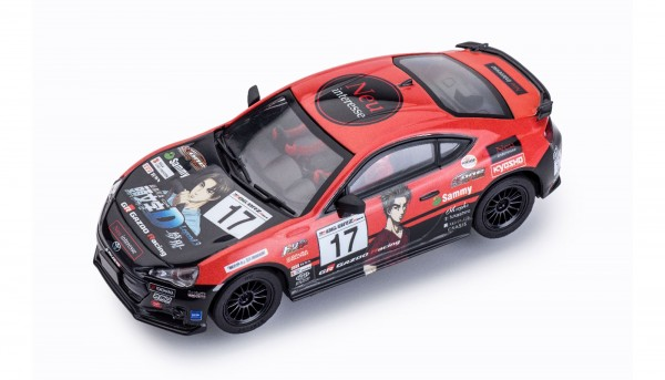 Slotcar 1:32 analog POLICAR Home Racers GT86 Challenge 2017 No. 17 m.Licht