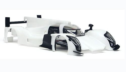 Karosseriebausatz Slot.it R18 TDI f.Inliner-Chassis Kunststoff weiß f.Slotcars 1:32