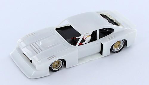 Slotcar 1:32 analog Bausatz SIDEWAYS Capri Turbo White Kit