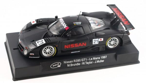 Slotcar 1:32 analog Nissan R390 T-Car Le Mans 1997 No. 21