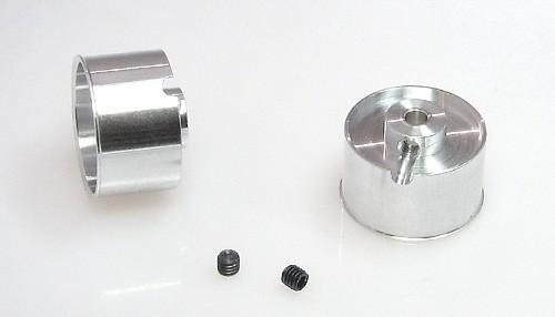 Felgen Racing-B Ø18,5x11-13mm f.Ø3mm Flachhump Aluminium m.M3