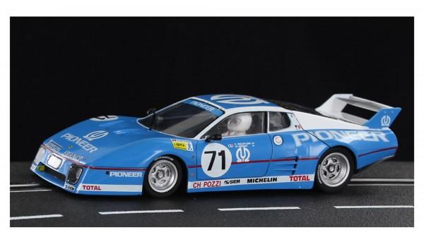Slotcar 1:32 analog SIDEWAYS 512BB Le Mans 1982 No. 71