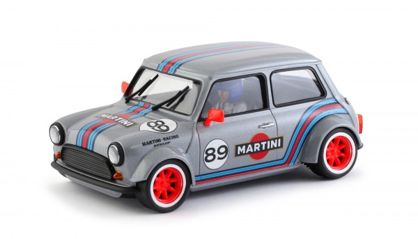Slotcar 1:24 analog Cooper No. 89 Grey Edition