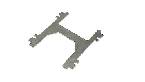 Karosserieträger-Grundplatte H-Plate Stahl