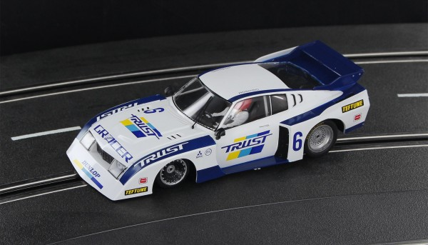 Slotcar 1:32 analog SIDEWAYS Celica Turbo No. 6