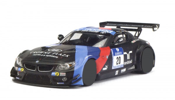 Karosserie 1:24 f.Slotcar Z4 GT3 Nürburgring 2013 No. 20