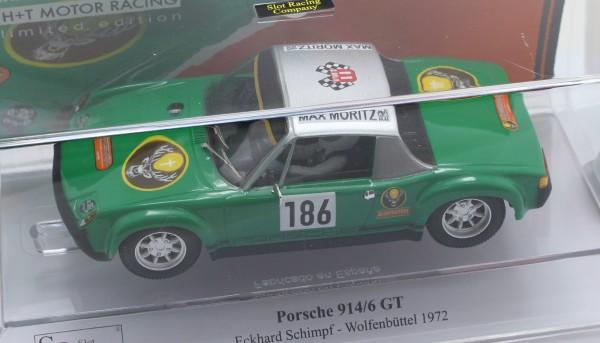 Porsche 914/6 Wolfenbüttel 1972 #186 Limited Edition