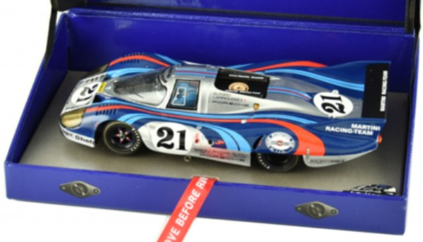 Slotcar 1:32 analog LE MANS MINIATURES 917 Langheck Le Mans 1971 No. 21 High Detail Collectors Edition