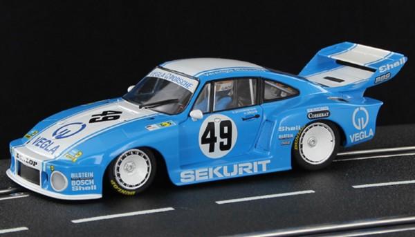 Slotcar 1:32 analog SIDEWAYS 935/77A Le Mans 1980 No. 49