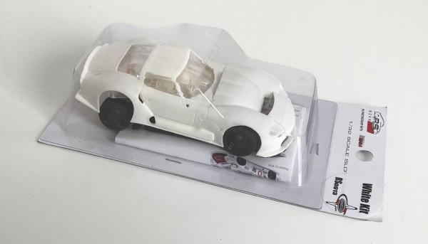 Fahrzeugbausatz Marcos LM600 White Kit 1:32