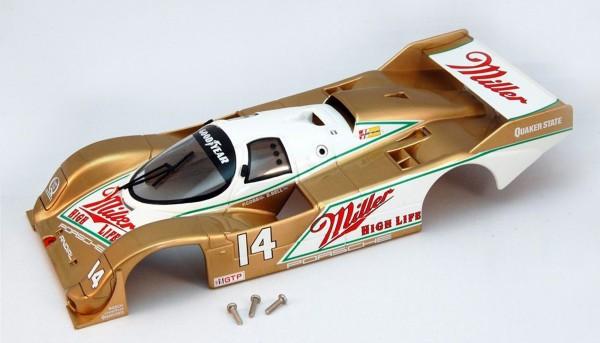 Karosserie BRM 962 IMSA 1988 No. 1 Kunststoff f.Slotcars 1:24
