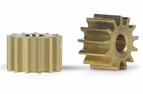 Motorritzel 13Z Ø6,5mm Messing f.Ø2mm