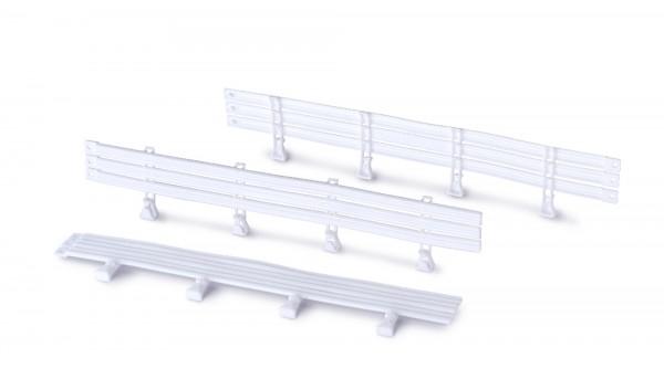 Leitplanken zur Montage an Randstreifen f.Autorennbahn Racing Track System 1:32