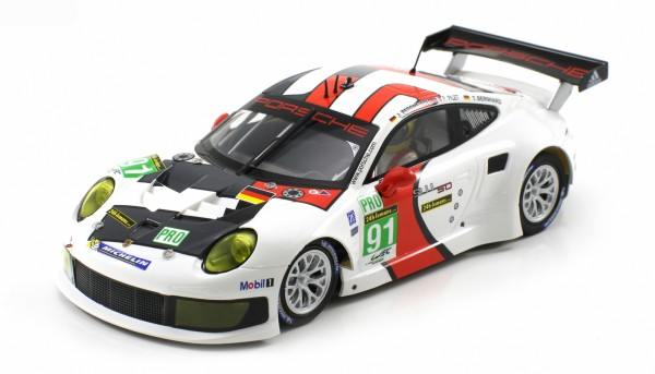 Slotcar 1:24 Bausatz analog Racing-RC2 Competition P991 RSR Le Mans 2013 No. 91