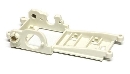 Motorhalter Slot.it V12 Sidewinder m.Hinterachsträger Offset 0,75mm Kunststoff f.Slotcars 1:32
