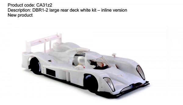 Slotcar 1:32 Bausatz analog Slot.it DBR1-2 White Kit m.Inliner-Chassis