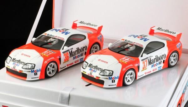 Slotcar 1:32 analog Twin-Pack REVOSLOT Team Supra Special Edition Box m.2 Autos