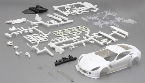 Karosseriebausatz 1:24 f.Slotcar A7R GT3